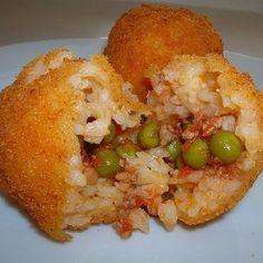 ARINCINI (Sicilian Rice Rolls)