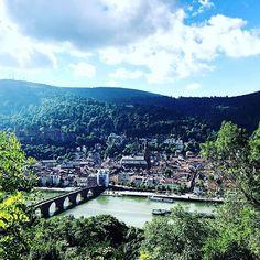 Blick vom Philosophenweg #heidelberg #philosophenweg