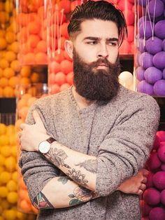 verymanlyman: hairygingerman: Prince of bearded men Chris John Millington
