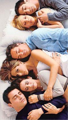 Rachel is awake Friends 1994, Serie Friends, Friends Cast, Friends Episodes, Friends Moments, I Love My Friends, Friends Tv Show, Friends Forever, Best Friends