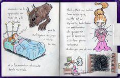 """""""El Diamante Espeluznante"""" - Cuento PopUp de Espantos: Alondon / Textos: Atenea Hoja 3 (reacc.)"""