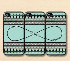 infinity ,Aztec& Best Friends iPhone 5 Case, iPhone 5 Case, iPhone 5 Hard Plastic Case, Personalized iPhone cover--water proof on Etsy, $23.88