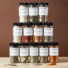 Upgrade your basics: these gourmet spices from Napa pack more flavor per pinch, saving you time and money.