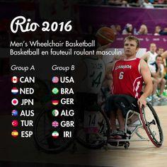 Men's Wheelchair Basketball - Rio 2016 - Go Canada Go - from…