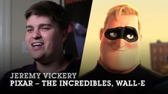 Jeremy Vickery, 2012 Hall of Fame Inductee. 1997 Digital Media graduate, now Assistant Art Director Ubisoft with credits on the Veggie Tales TV series, Delgo, Inside Out, Wall·E, The Incredibles, Cars, Ratatouille, The Blue Umbrella, Toy Story of Terror,  Brave.