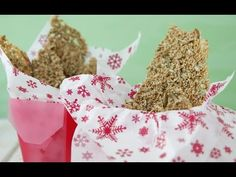 Three Seed Brittle - Edible Gifts - Weelicious - YouTube
