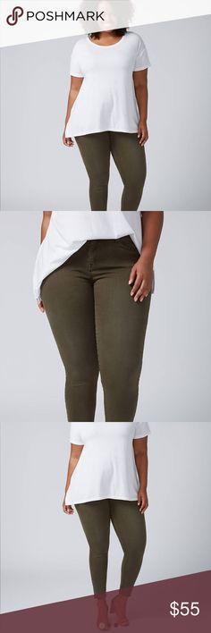 a7e7e8d3e6f 🌹HP🌹NWT Lane Bryant SS Skinny Jeans-Dark Olive 🌹Host Pick🌹NWT Lane  Bryant Super Stretch Skinny Jeans in Dark Olive A skinny jean in our Super  Stretch ...