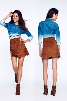 ...or try this '70s trend in suede.