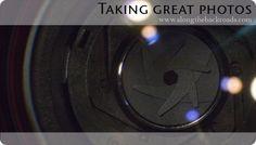 Taking Great Photos – Part 3: Aperture