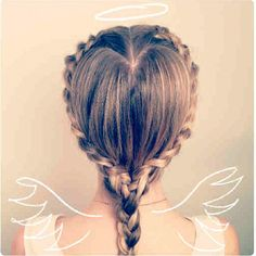 The Heart Braid tutorial on thebeautydepartment.com - @thebeautydept- #webstagram