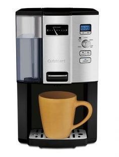 Cuisinart Espresso-on-Demand Programmable Coffeemaker Espresso With out the Carafe! Cuisinart lets you will have your espresso on demand! Best Drip Coffee Maker, Single Cup Coffee Maker, Single Serve Coffee, Great Coffee, Hot Coffee, Coffee Cups, Coffee Break, Drink Coffee, Coffee Time