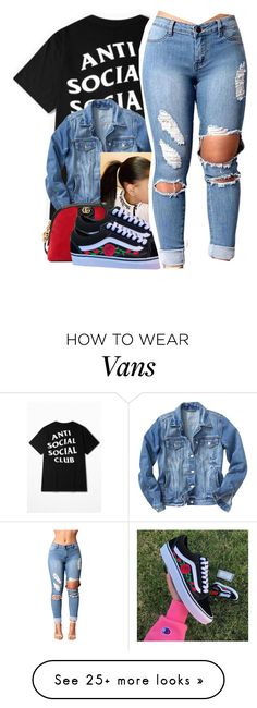 """""""anti"""" by chantal11234 on Polyvore featuring WithChic and Gucci"""