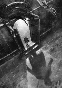 """Tyrion's Long Shadow,"" by Didier Graffet #asoiaf #gameofthrones"
