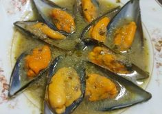 Mussels, Sin Gluten, Ratatouille, Finger Foods, Tapas, Food And Drink, Stuffed Peppers, Vegetables, Cooking