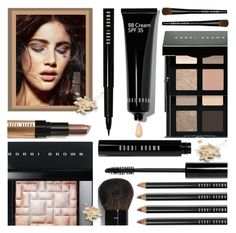 """""""Bobbi Brown"""" by rasa-j ❤ liked on Polyvore featuring beauty, Bobbi Brown Cosmetics, BobbiBrown, beautyset, Fall2016 and autumn2016"""