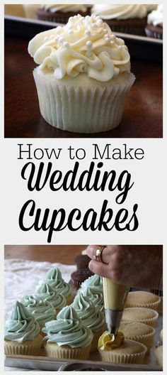 White Wedding Cake Cupcakes recipe from via can find White wedding cakes and more on our website.White Wedding Cake Cupcakes recipe from via Wedding Cupcake Recipes, White Cupcake Recipes, White Cupcakes, Wedding Cakes With Cupcakes, Cupcake Cakes, Wedding Recipe, Birthday Cake Cupcakes, Wedding Cake Recipe Using Cake Mix, 100 Cupcakes Recipe