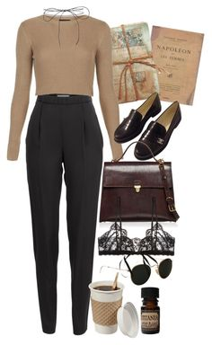 """Untitled #9578"" by nikka-phillips ❤ liked on Polyvore featuring Ray-Ban, GO Home Ltd., Vionnet, Topshop, Chanel, Marni, Hanky Panky, Lab and Lilou"