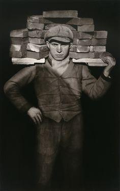 August Sander, Bricklayer, 1928