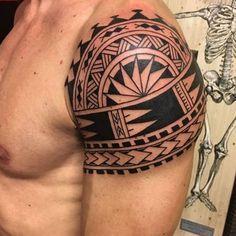 Maori tattoos – Tattoos And Half Sleeve Tribal Tattoos, Polynesian Tribal Tattoos, Tribal Shoulder Tattoos, Mens Shoulder Tattoo, Sleeve Tattoos, Body Art Tattoos, Star Tattoos, Guy Tattoos, Turtle Tattoos