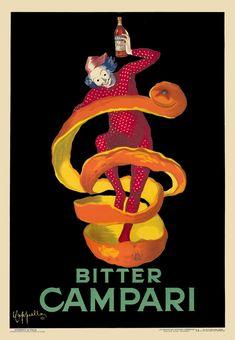 Cappiello, Leonetto poster: Bitter Campari (jester)