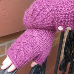 Tree of Life Wristlets, a Free Pattern featuring Road to China Worsted