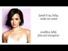 Demi lovato - Body Say ║ Lyrics & Traduction en Français Body Say Lyrics, Demi Lovato Body Say, France, Me Me Me Song, Music Publishing, Writer, Messages, Songs, My Love