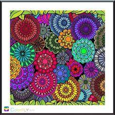 Lovely Sarah Ajzz Adult ColoringColoring BooksColourArtVintage
