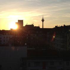 Abendsonne in Düsseldorf!