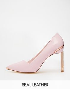 Patent Heels, Shoes Heels Pumps, High Heels, Flats, Couleur Rose Pale, Awesome Shoes, Peep Toe Wedges, Black White Pink, Big Time