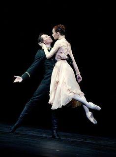 Sylvie Guillem and Nicolas Le Riche in Winter Dreams