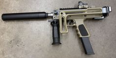 MPA Defender that takes Glock mags. This is an aluminum lower MAC, takes Glock mags and a folding stocks, and has a folded length of about Weight is around or so: Weapons Guns, Airsoft Guns, Guns And Ammo, Glock Guns, Zombie Weapons, Assault Weapon, Submachine Gun, Fire Powers, Military Guns