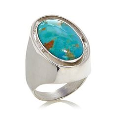 Jay King Reversible Lapis & Turquoise Sterling Silver Ring I FINALLY got it!