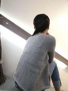 Elengiina: Ylhäältä alas neulottu paita + Helppo ohje Maybelline, Pullover, Knitting, My Style, Sweaters, How To Make, Crafts, Fashion, Breien