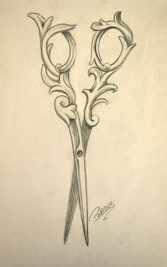 scissor tattoos - Google Search
