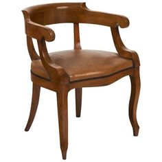 Antique French Restoration Style Arm Chair | Chairish