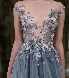 "belleamira: "" Details Paolo Sebastian A/W 2016-2017 Couture """