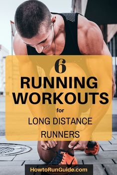 6 Running Workouts for Long Distance Runners. Run longer and faster with these 6 crucial running workouts for long distance runners. Running For Beginners, How To Start Running, How To Run Faster, How To Run Longer, Race Training, Speed Training, Running Training, Strength Training, Training Plan