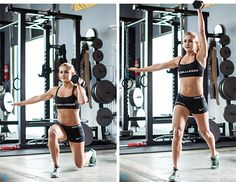 This six-move circuit will rev your motor while leaving no muscle group untouched. You'll sweat, get stronger, and have fun doing it. This is how full-body training should feel!