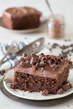 Doctored up Chocolate Cake.......This is hands down our favorite doctored up chocolate cake mix recipe!! Doesn't use pudding or coffee which is great. Always get tons of compliments on it!