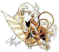 Virgo no Shaka Virgo Sign Tattoo, Virgo Constellation Tattoo, Shaka Tattoo, Haikyuu, Manga Anime, Anime Art, Vintage Style Tattoos, Zodiac Art, Comic Artist