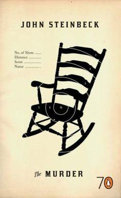 Murder  Author: John Steinbeck  Publisher: Penguin Books Ltd  Publication Date: November 30, 1999  Genre: Fiction  Design Info:  Designer: Gray318  Art_director: John Hamilton  Art_director: Jim Stoddart