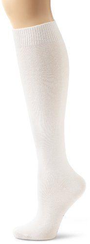 HUE Women's 3-Pack Flat Knit Knee Socks