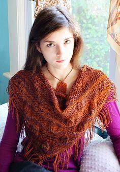 Free Pattern: Indigenous shawl.