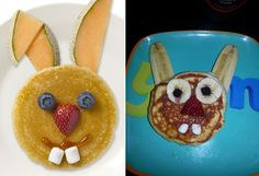 The person who created this clearly-high-on-meth rabbit pancake. | 19 People Who Prove That Pinterest Recipes Are A Lie