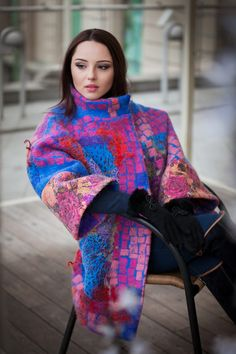 nadinsmo.com wool felted coat -cocoon from new Spring Collection 2016 READY TO…