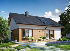 Proiecte de case fara etaj cu 2 dormitoare - intre traditional si contemporan