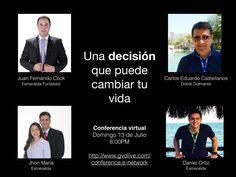 Conferencia Virtual 13 de Julio