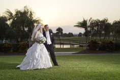 The background images at University Park Country Club in Sarasota never disappoint. You don't have to be a member to get married here! #UniversityParkWeddings http://www.universitypark-fl.com/weddings/  Photo by Fred Mailloux
