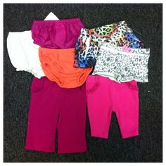 Mixed Lot Baby Girl Clothes NB-3m