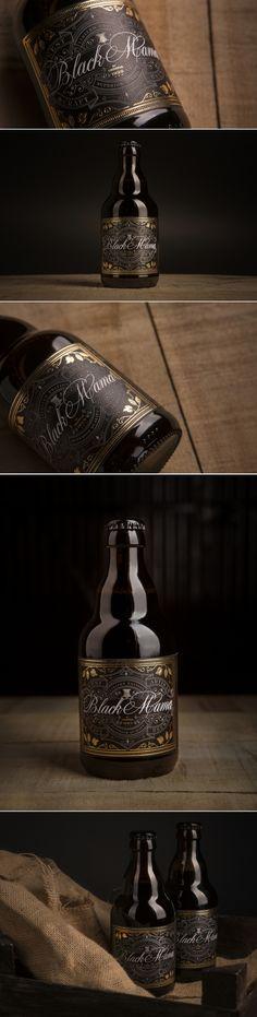 Black Mama Craft Beer — The Dieline - Branding & Packaging Design